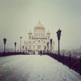 Moscou est aussi ravissante par beau temps que par temps neigeux.