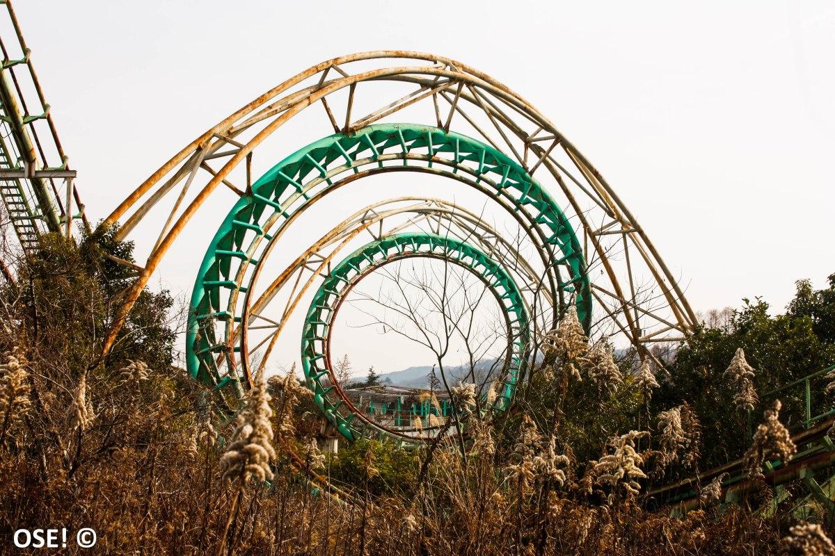 Nouvelle galerie photo: le parc abandonné de Nara Dreamland!