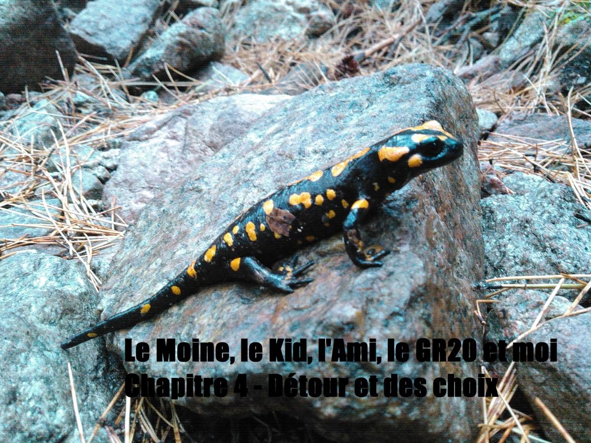 Le Moine, le Kid, l'Ami, le GR20 et moi Chapitre 4 – Détour et deschoix